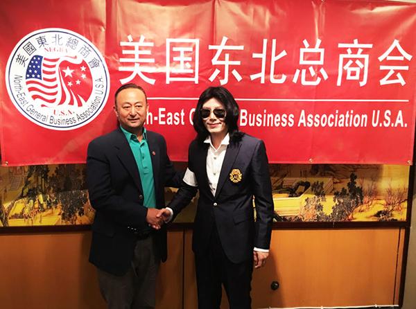 美国巨星杰克逊中国模仿者王杰克逊表示